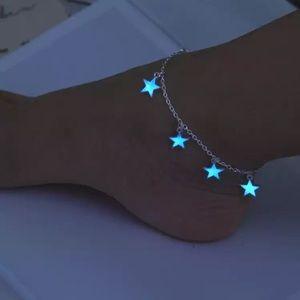 Jewelry - Shiny glow in dark anklet